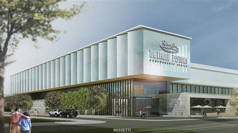 Henry Ford Center by Detroit Pistons And Henry Ford Health System Ground