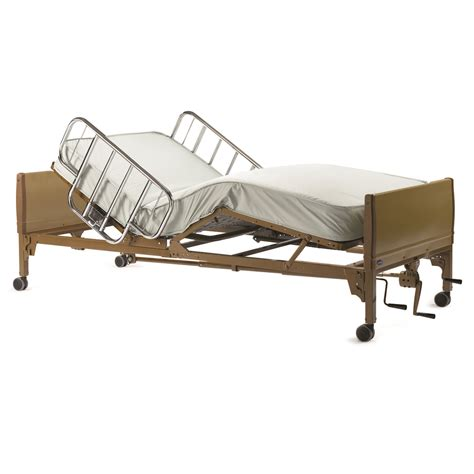 Mattresses For Hospital Beds by Invacare 5307ivc Manual Hospital Bed Features Universal