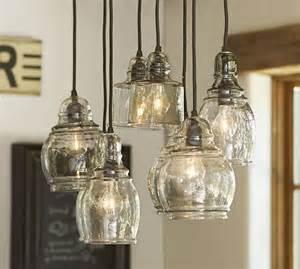 Paxton Glass 8 Light Pendant Paxton Glass 8 Light Pendant Pottery Barn