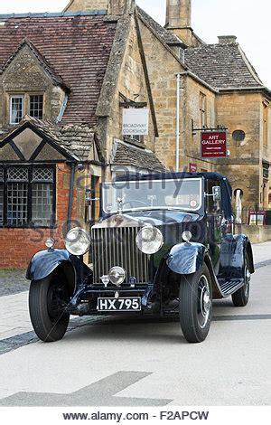 vintage car rolls royce 25 / 30 open tourer of 1938