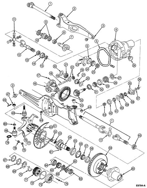 1995 ford f150 parts diagram what is the proper assy for installing the front rotor on