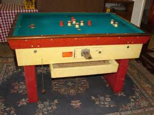 29 vintage bumper pool table lot 29