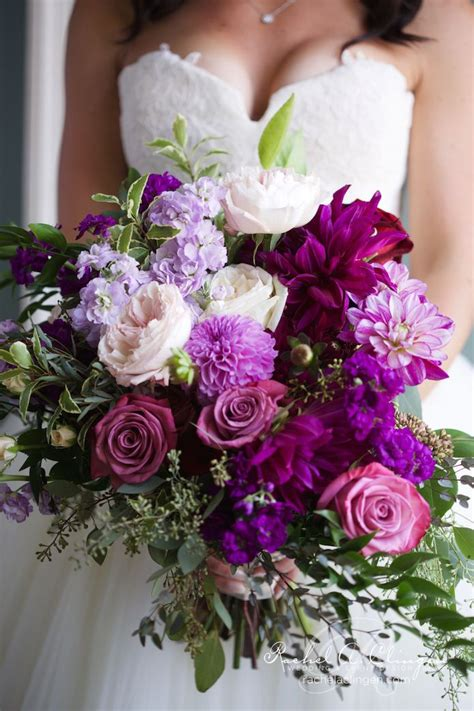 Purple Wedding Flowers by Best 25 Purple Wedding Flowers Ideas On