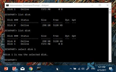 cara format flashdisk write protected dengan cmd cara format flashdisk yang tak bisa diformat write
