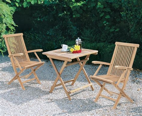 Rimini Square Table 2 Ashdown Armchairs Folding Patio Folding Patio Dining Set