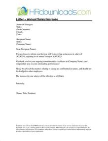 4 salary increase letter templatereport template document