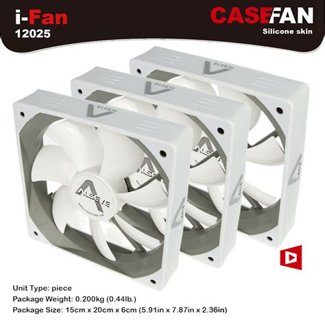 Alseye Fan Casing Windlight alseye computer cooling fan 120mm radiator 3pieces white fan for computer and cpu dc 12v