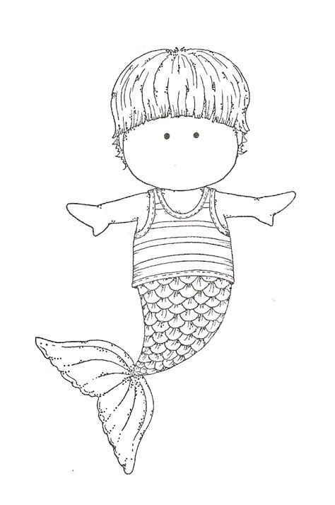 mermaid coloring page things we think are super cool over