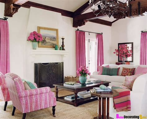 Pink Living Room Ideas 10 Amazing Pink Living Room Interior Design Ideas Https Interioridea Net