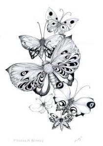 Butterflies pencils by joannabromley on deviantart