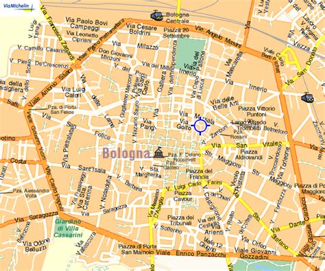 map of italy bologna bologna city map images