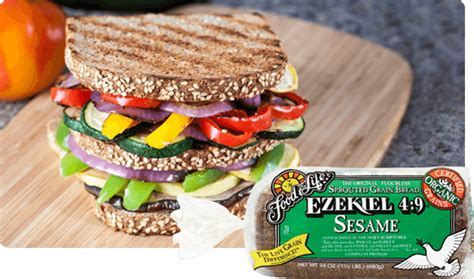 4 whole grains ezekiel 4 9 sesame sprouted whole grain bread food for