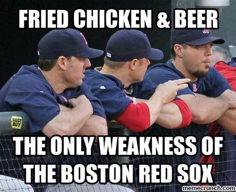 Red Sox Memes - fried chicken meme
