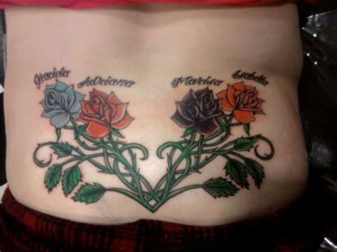 rose tramp stamp