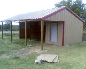 Pictures Of Small Horse Barns How To Build A Metal Loafing Shed Shed Plan Easy