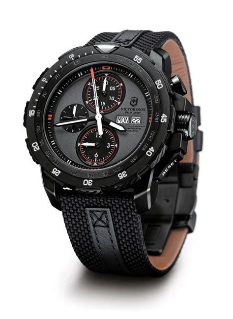 new model swiss army alpnach mechanical chronograph