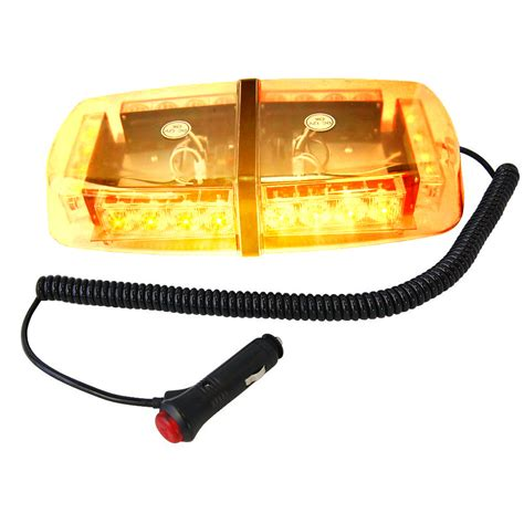Strobe Light Bar by Hqrp 24 Led Strobe Emergency Vehicle Mini Strobe