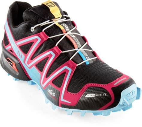 rei womens trail running shoes salomon speedcross 3 cs trail running shoes s