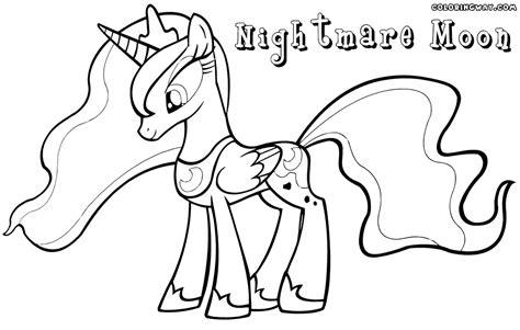 coloring page nightmare moon nightmare moon coloring pages coloring pages to download