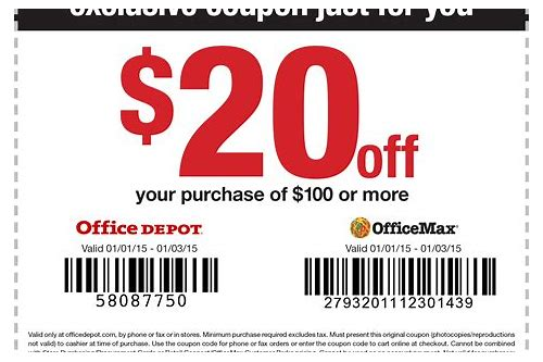 office depot coupons 2018 december