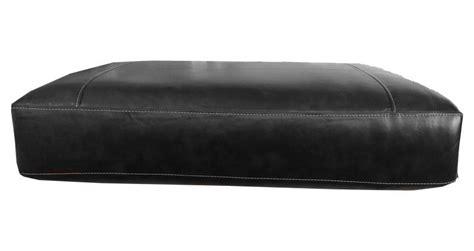 black leather sofa cushions rectangular sofa cushion cover bonded leather in black