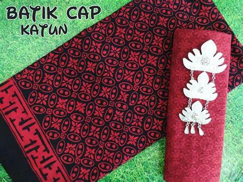 Kain Batik Kawung Merah kain batik cap pekalongan pilihan lengkap batik cap