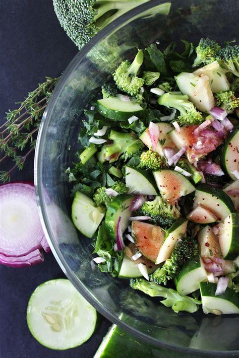simple fall veggie salad amanda nicole smith