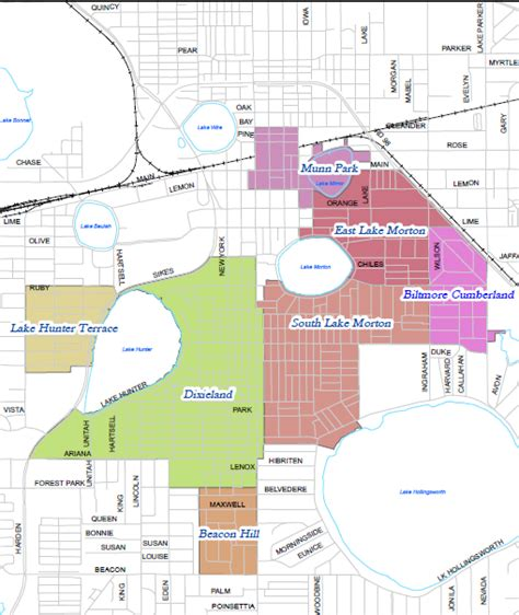 south and east lake morton historic district neighborhoods