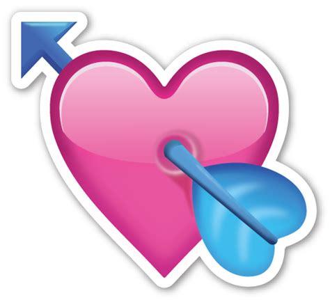 shopping bag transparent emoji heart with arrow