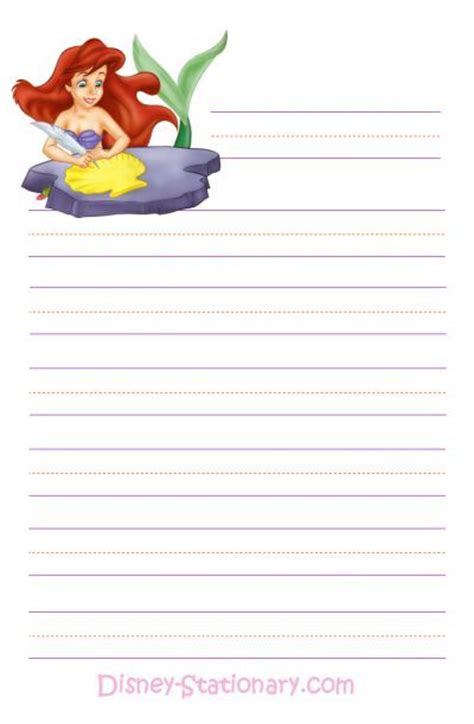 printable disney stationary free printable disney stationary writing paper notes