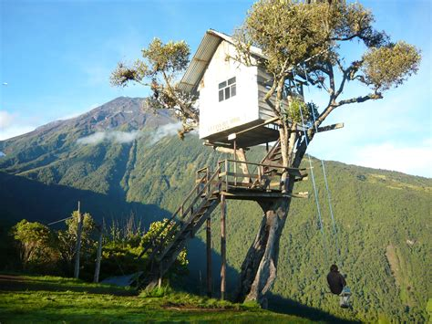 swing house la the adventurous swing at casa del arbol ecuador world