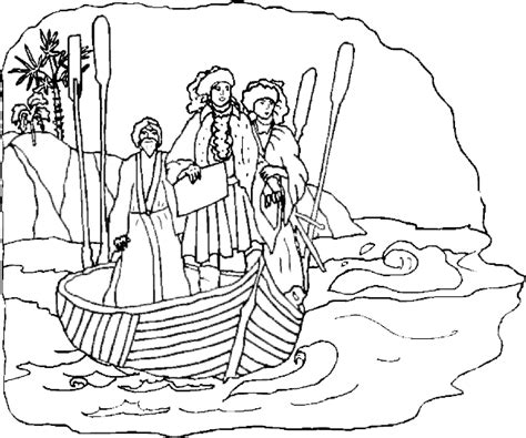 Columbus Day Coloring Page Christopher Columbus And A Imagenes De Columbus Day For Coloring