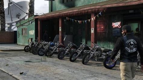 Motorrad Online Game by Gamer S Diary Meet The Reaper Lords A Gta Online Biker Gang