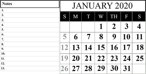 schedule  month  january  printable calendar   wiki