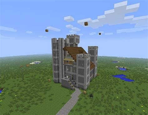 Floor Plans To Build A House by Small Castle Fortress Minecraft Project