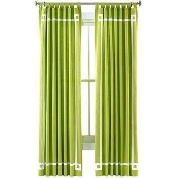 happy chic curtains happy chic by jonathan adler katie canvas curtain panel i