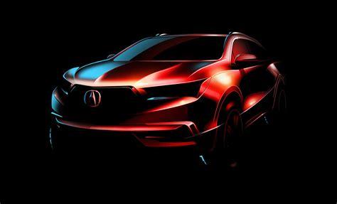 2020 Acura Mdx Ny Auto Show by 2017 Acura Mdx Getting Aggressive Look 2016 New York Auto
