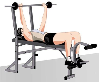bench press workout bench press workout for women images