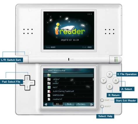 ireader v1.12 (nds application) › nintendo ds › pdroms