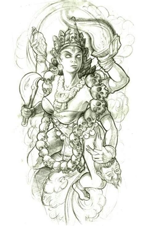 tattoo flash god hindu god tattoo design idea tattoos pinterest