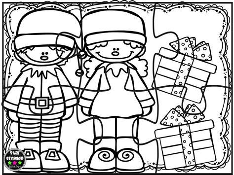 imagenes educativas navidad puzzles navidad para colorear 4 imagenes educativas