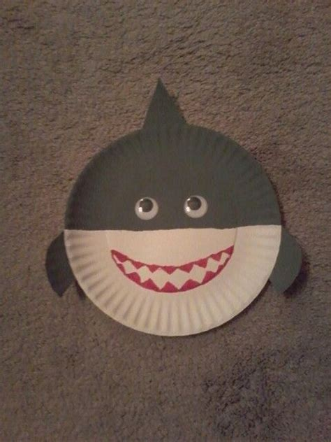 paper plates crafts 25 best ideas about shark craft on