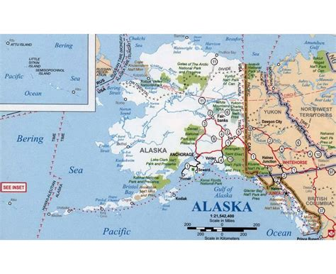 alaska usa map cities maps of alaska state collection of detailed maps of