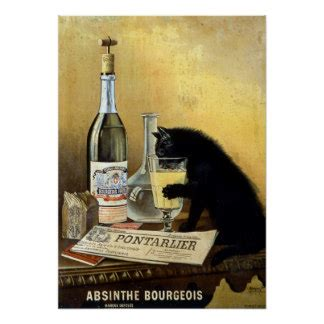 Cat Poster Asturo 12 Warna vintage cat posters zazzle