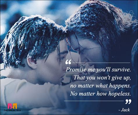 famous titanic film quotes titanic love quotes 11 best ones from the classic