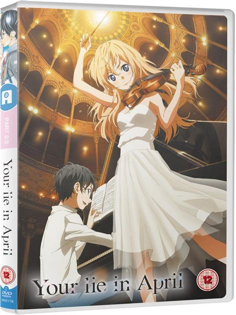 Your Lie In April 2 your lie in april part 2 dvd alltheanime