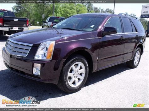 Cadillac Srx 2009 by 2009 Cadillac Srx V6 Black Cherry Light Gray Photo