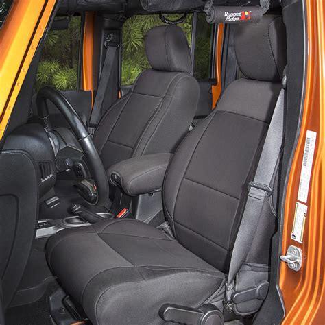 xj neoprene seat covers rugged ridge 13215 01 neoprene front seat covers black