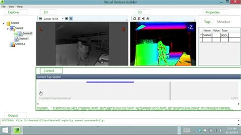 javascript kinect tutorial custom gestures end to end with kinect and visual gesture