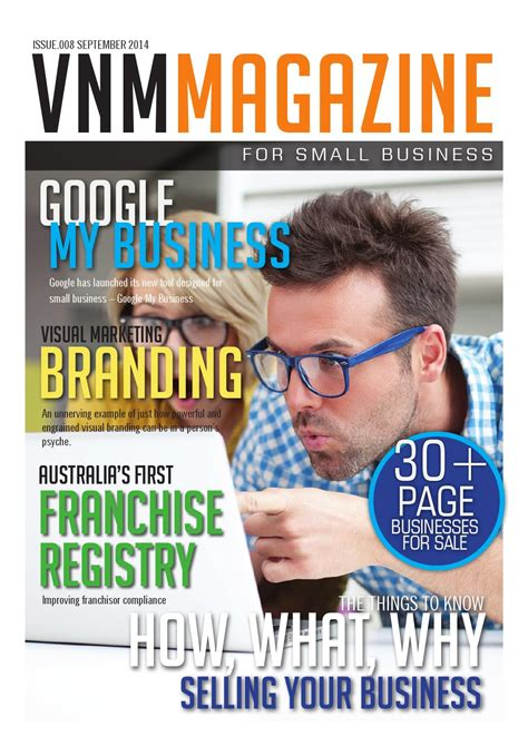 small business magazine issue 008 by vnm small business